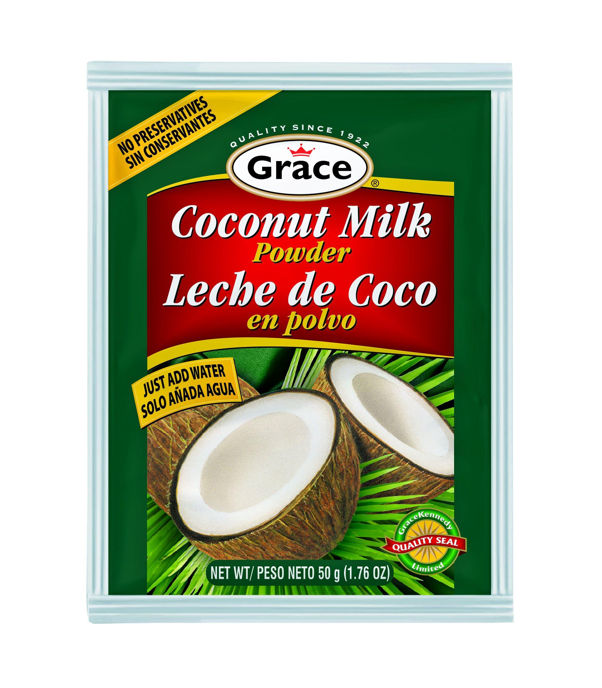 Grace Coconut Milk Powder (USA) 36 Pack by Grace