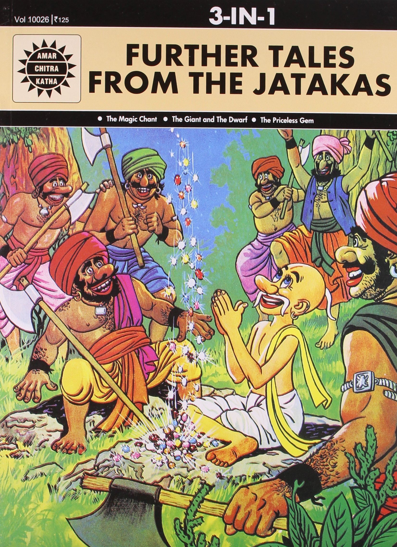 Download Further Tales From the Jatakas (Amar Chitra Katha 3 in 1 Series) PDF