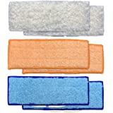 ATXKXE Washable Mopping Pads for iRobot Braava Jet 240 241 Mopping Robot, 2 Wet Mopping Pad + 2 Damp Sweeping Pad + 2…