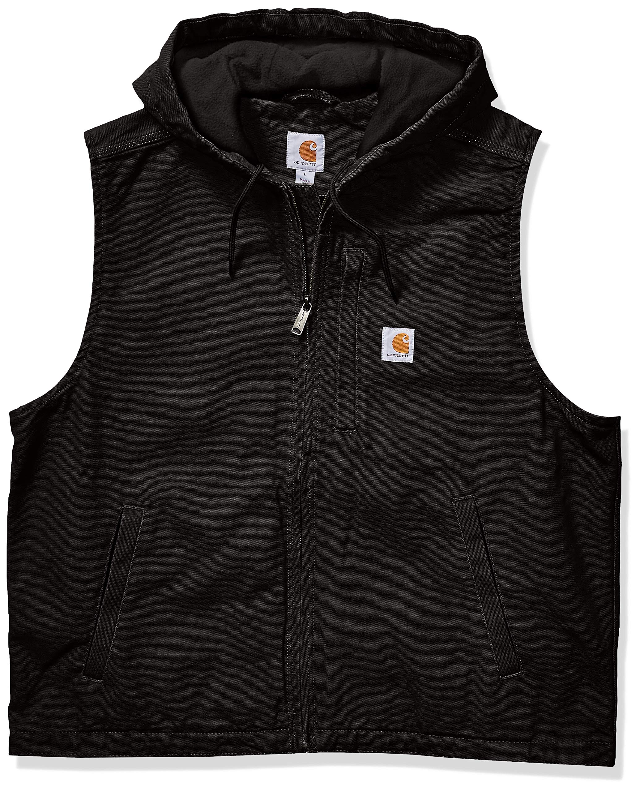 Carhartt Men's Knoxville Vest (Regular and Big & Tall Sizes), Black, Large by Carhartt