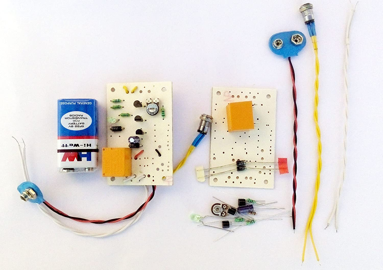 Pke Light Switch Ldr Circuit Project With Complete Assembling Kit And Sensor Also Simple Relay Diagram