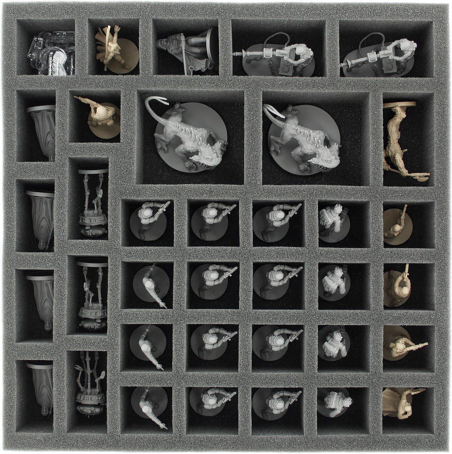 Foam tray set for Star Wars Imperial Assault board game box Feldherr AFCZ050BO_AFDA085BO