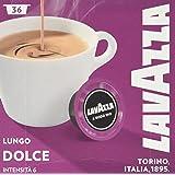 Lavazza A Modo Mio Dolcemente Caffe Crema Capsules (36 capsules in total)