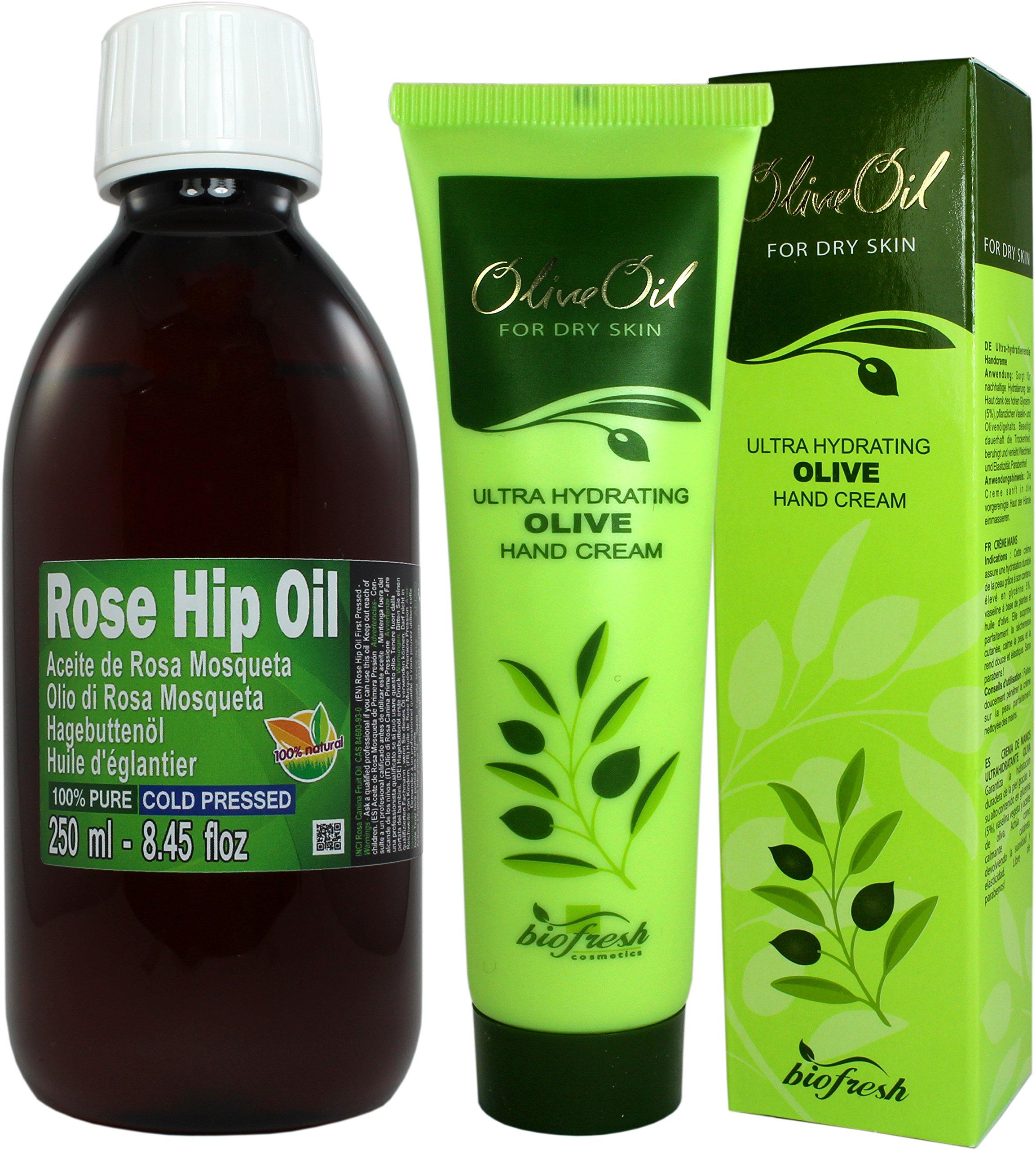 Aceite Rosa Mosqueta 100% Puro 250ml (un cuarto litro) Origen Chile - Primera
