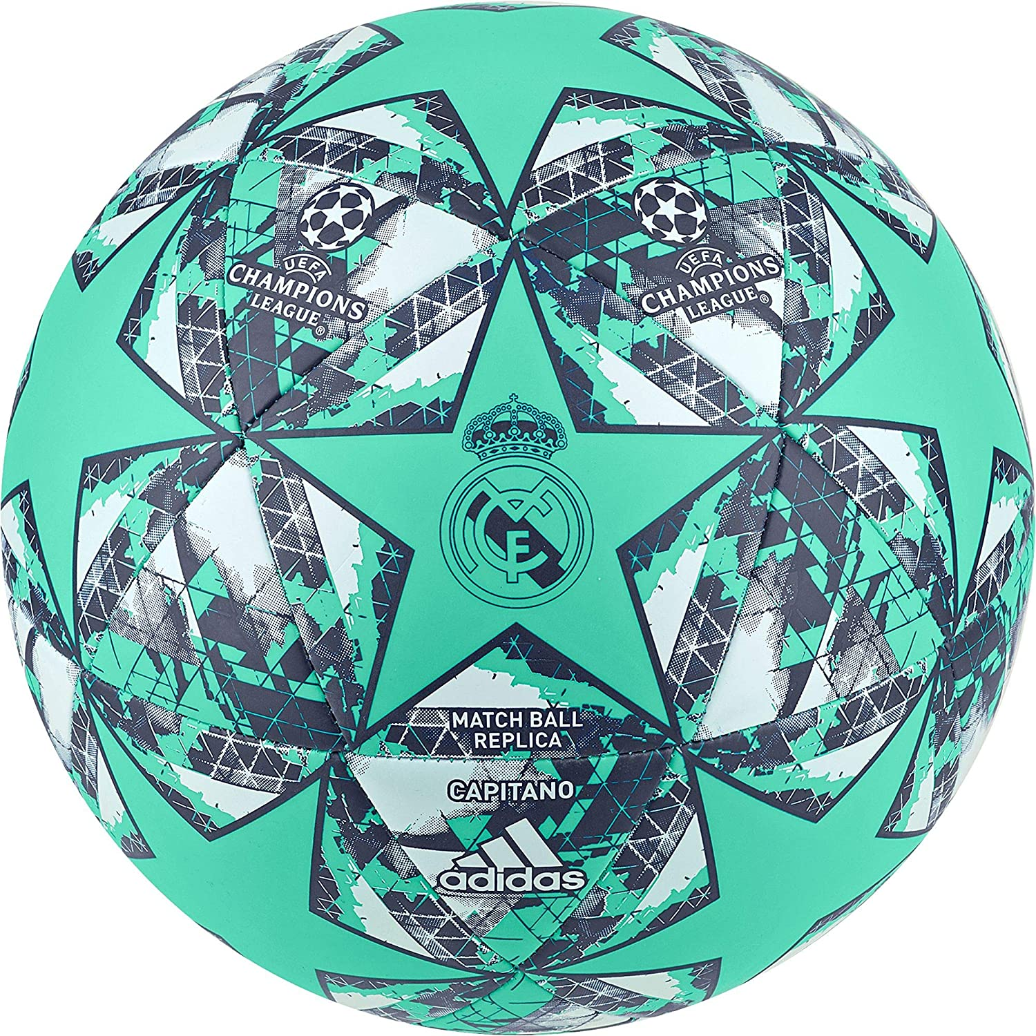 adidas Finale RM CPT Soccer Ball, Hombres, hi-Res Green s18/night ...