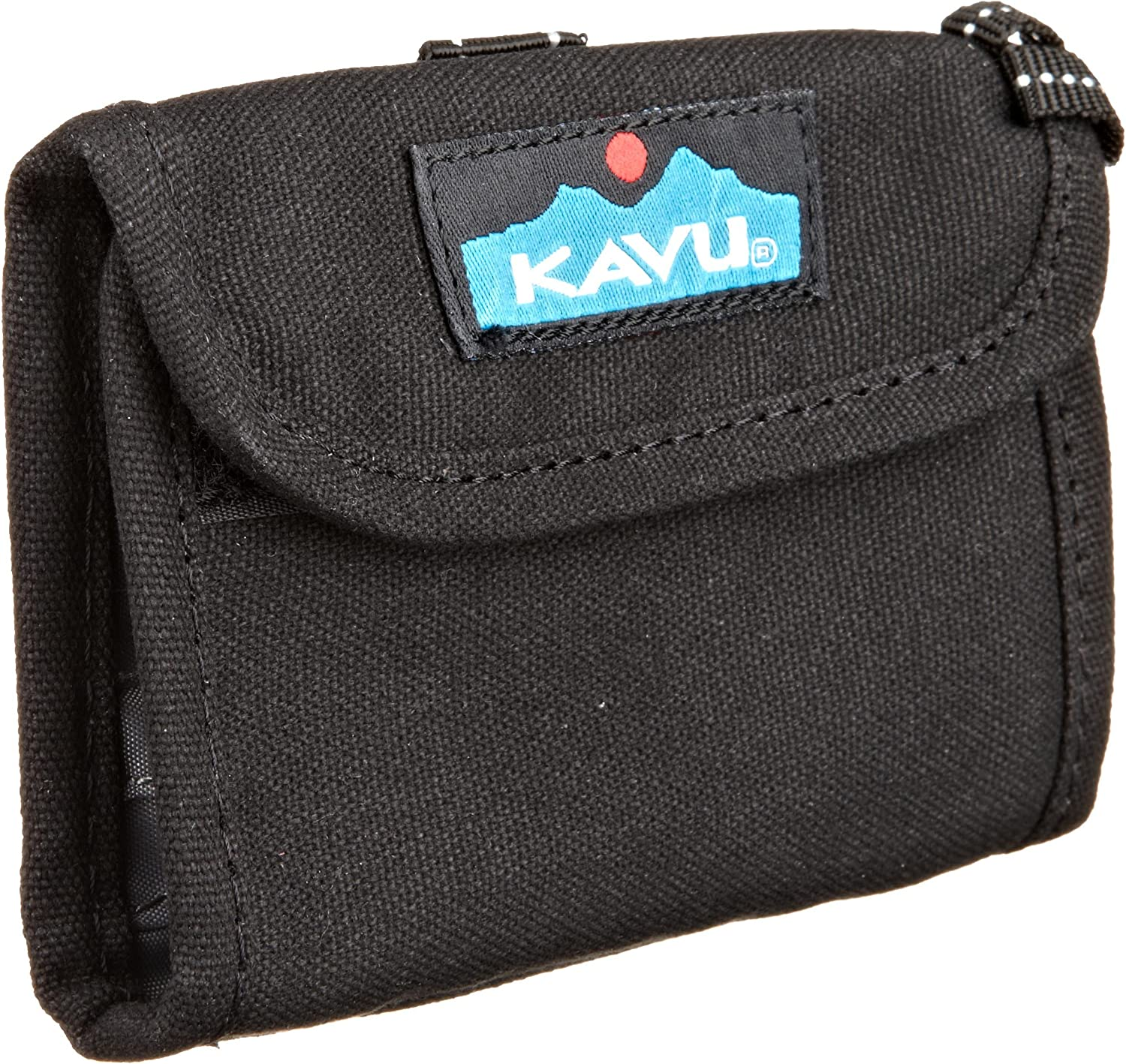 KAVU Wally Tri Fold Wallet with Coin Pocket and Key Ring