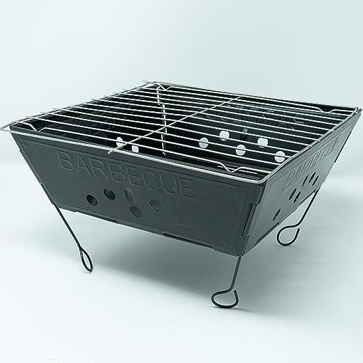 Qornerstone parrilla portátil para barbacoa - Mesa plegable ligera ...