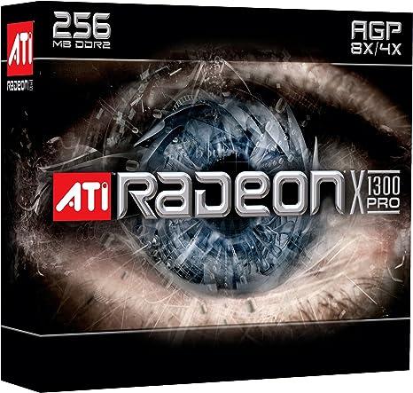 Amazon.com: AMD ATI Radeon X1300 Pro – Tarjeta de 256 MB AGP ...