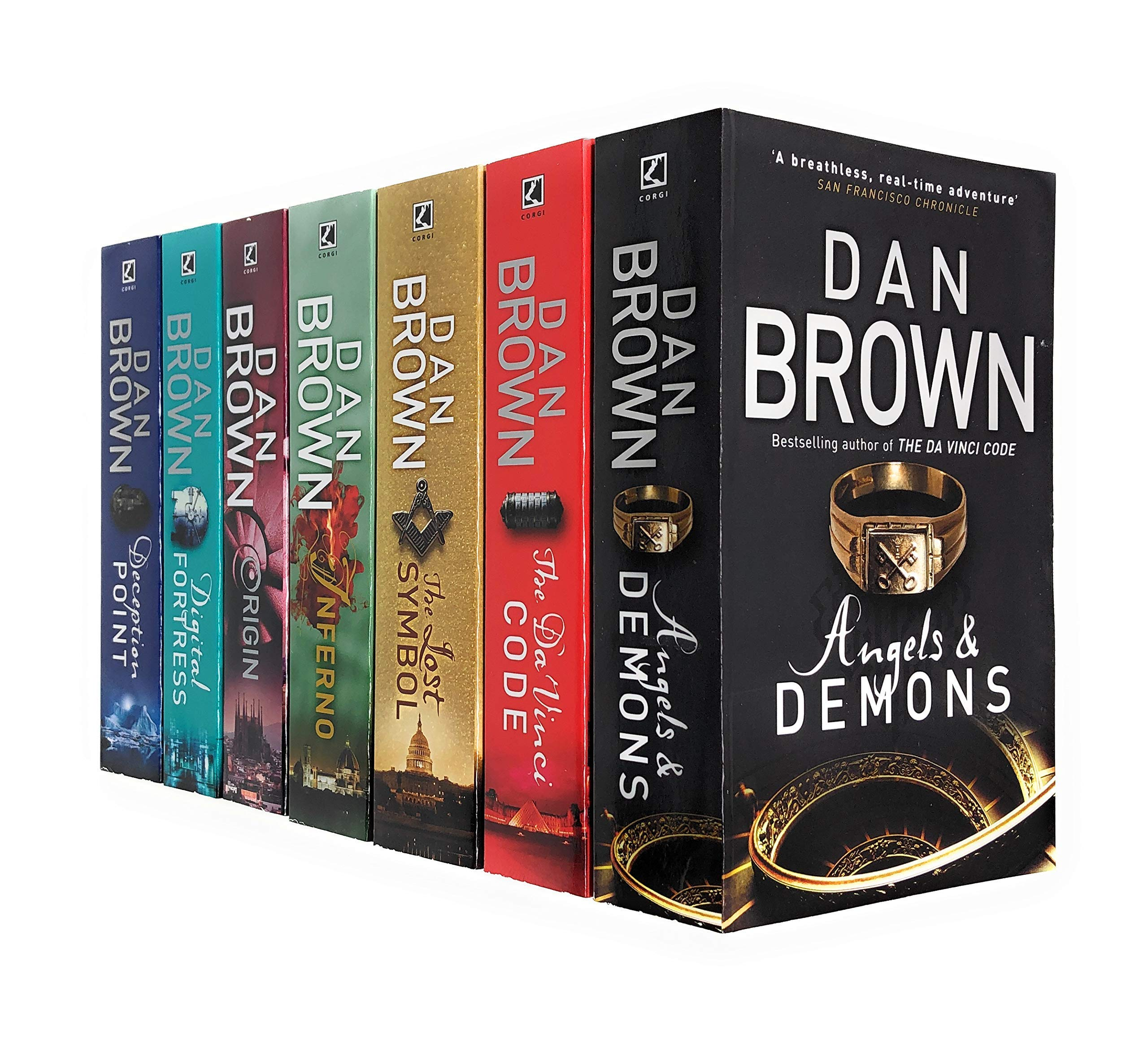 Amazon.com: Robert Langdon Series Collection 7 Books Set By Dan Brown (Angels And Demons, The Da Vinci Code, The Lost Symbol, Inferno, Origin, Digital Fortress, Deception Point) (9789123651252): Dan Brown, Angels &