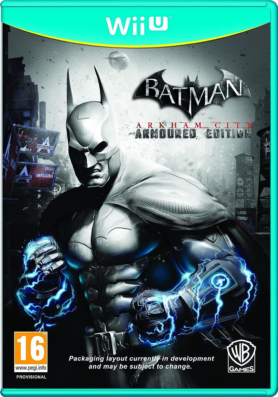 Batman Arkham City: Armored Edition (Nintendo Wii U) [Importación inglesa]: Amazon.es: Videojuegos