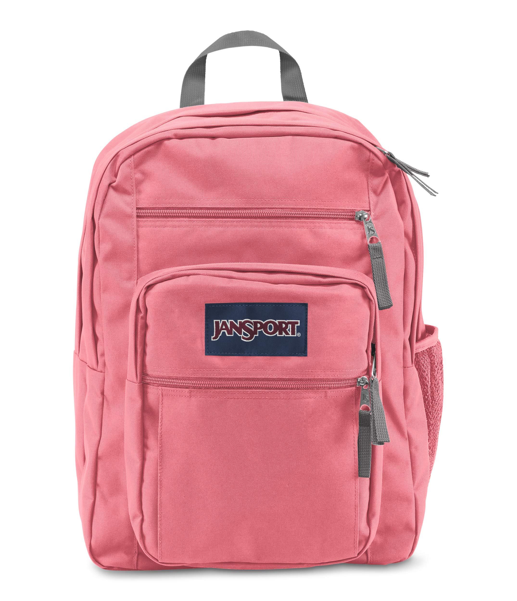 JanSport Big Student Backpack - 15-inch Laptop School Pack, Strawberry Pink by JanSport