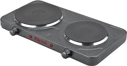 Girmi PE35 - Hornillo eléctrico, 500 W, color negro
