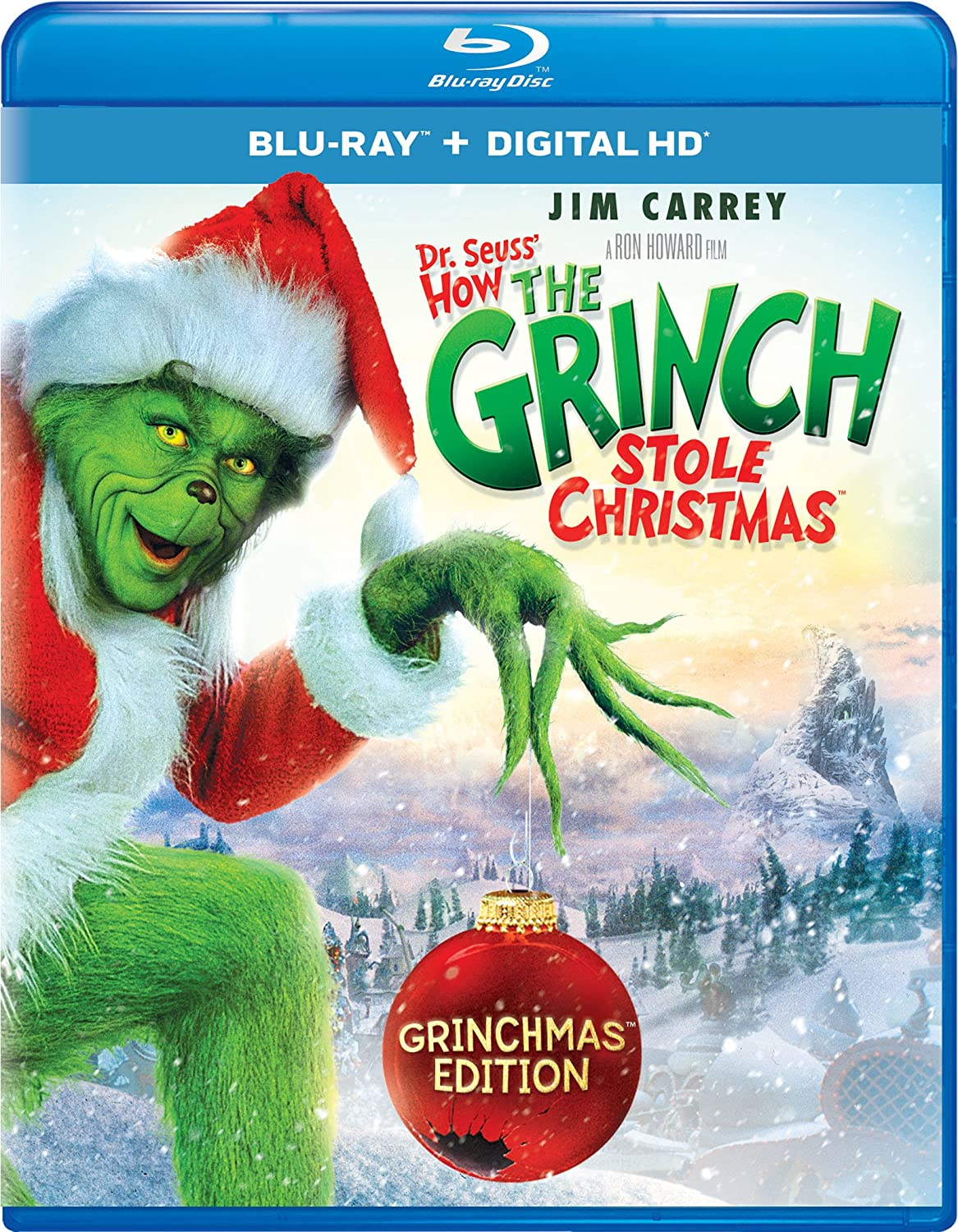Amazon.com: Dr. Seuss' How The Grinch Stole Christmas [Blu-ray ...