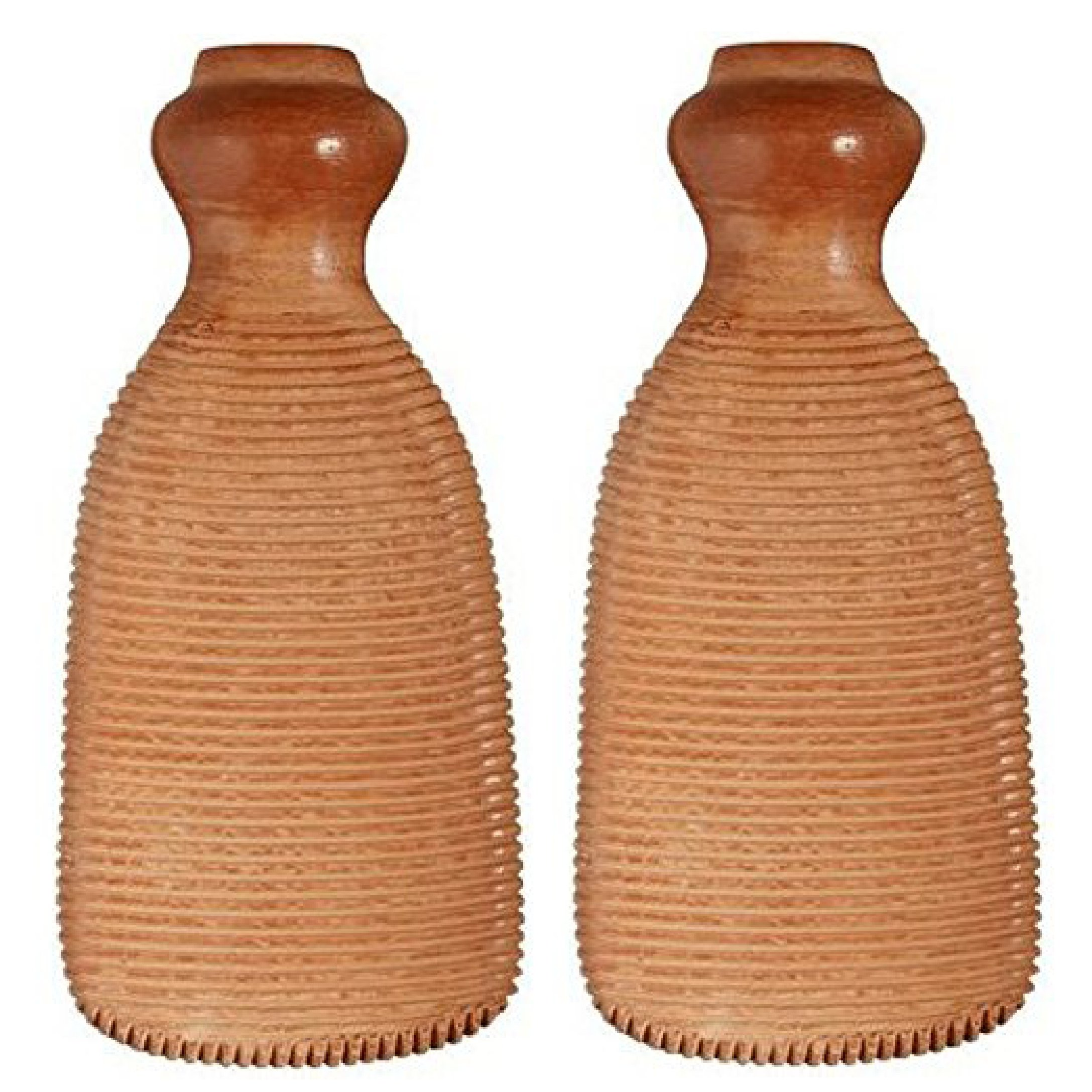 Gilden Tree 2-Sided Terra-Cotta Foot Scrubber (Set of 2) by Gilden Tree (Image #2)