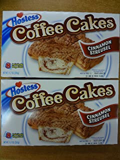 product image for Hostess Coffee Cakes Cinnamon Streusel 2 Boxes 16 Cakes