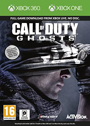 Call Of Duty: Ghosts Xbox 360 And Xbox One Digital Combo ...