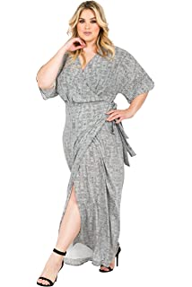 adaaf4fc1b4 Standards   Practices Plus Size Modern Women s Zebra Chiffon Kimono Maxi  Dress Black