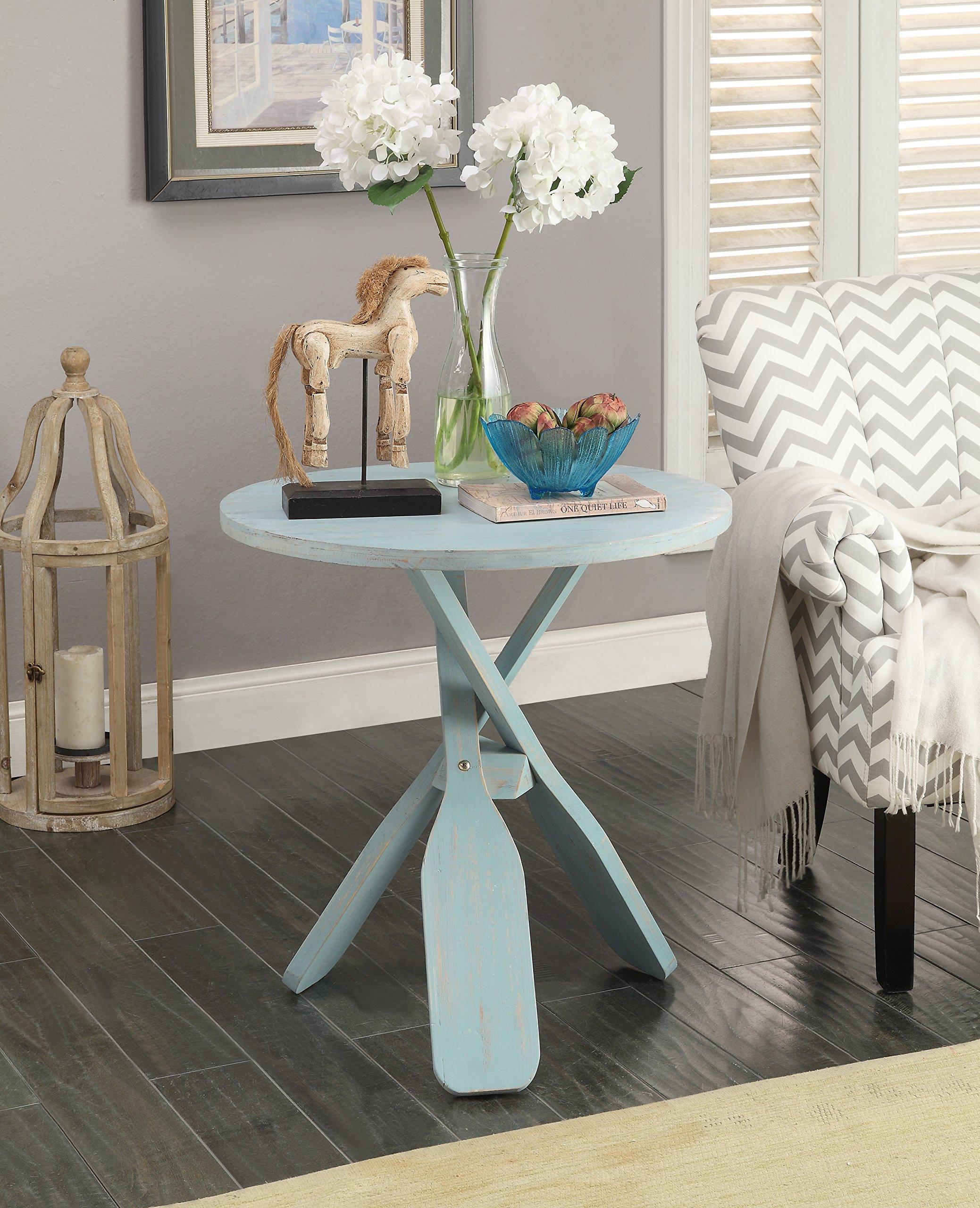 Treasure Trove Accent Table, Powder Blue