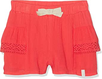 IKKS Junior Short Fluide Rouge Clair Pantalones Cortos para Bebés