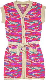 Kidz Art Girl's Long Knit Vest, Sizes 4-12