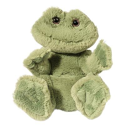 Douglas Frog Lil' Handful Plush Stuffed Animal: Toys & Games