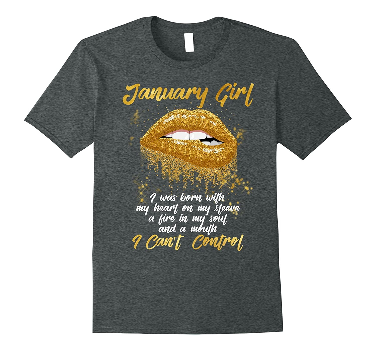 ae5d590a3ee I m a January Girl Shirt Funny Birthday T-Shirt for Women-ANZ ...
