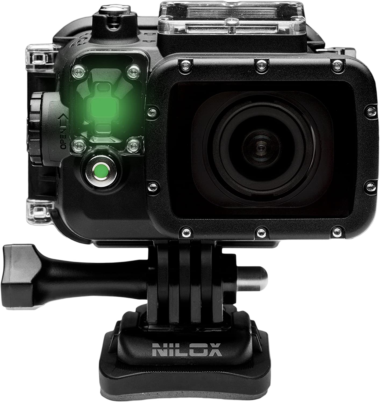 Nilox F-60 EVO - Videocámara deportiva (2.07 Mp, pantalla de 2