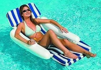 Swimline 10010 SunChaser Padded Floating Lounger