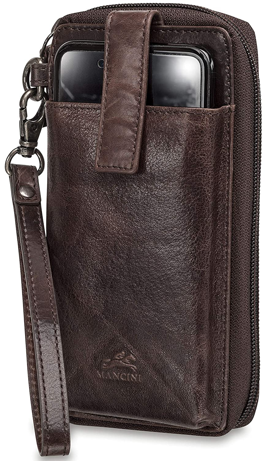 Mancini RFID Secure Cell Phone Wallet