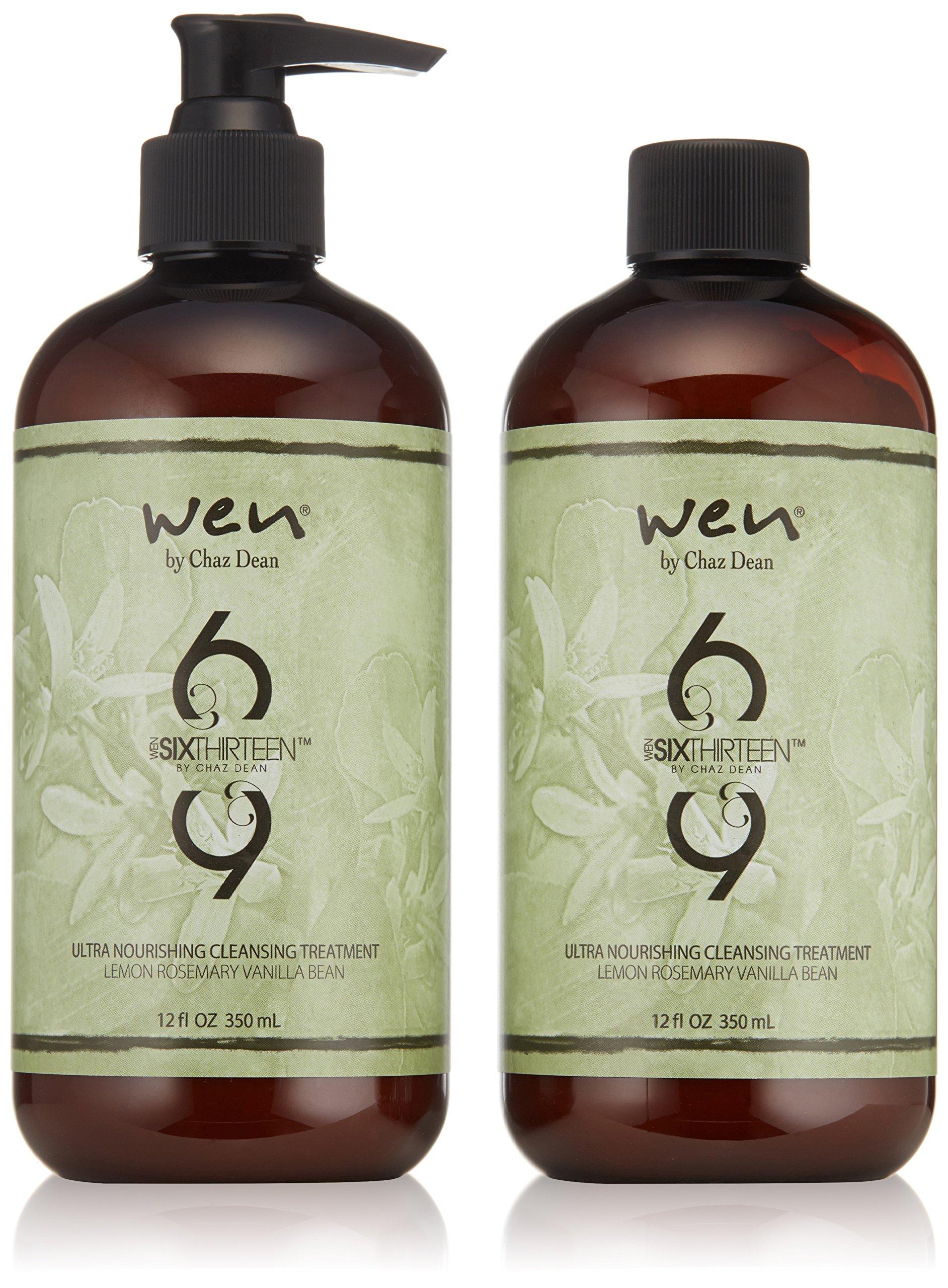 WEN by Chaz Dean Six Thirteen Ultra Nourishing Cleansing Treatment Duo, 24 fl. oz.