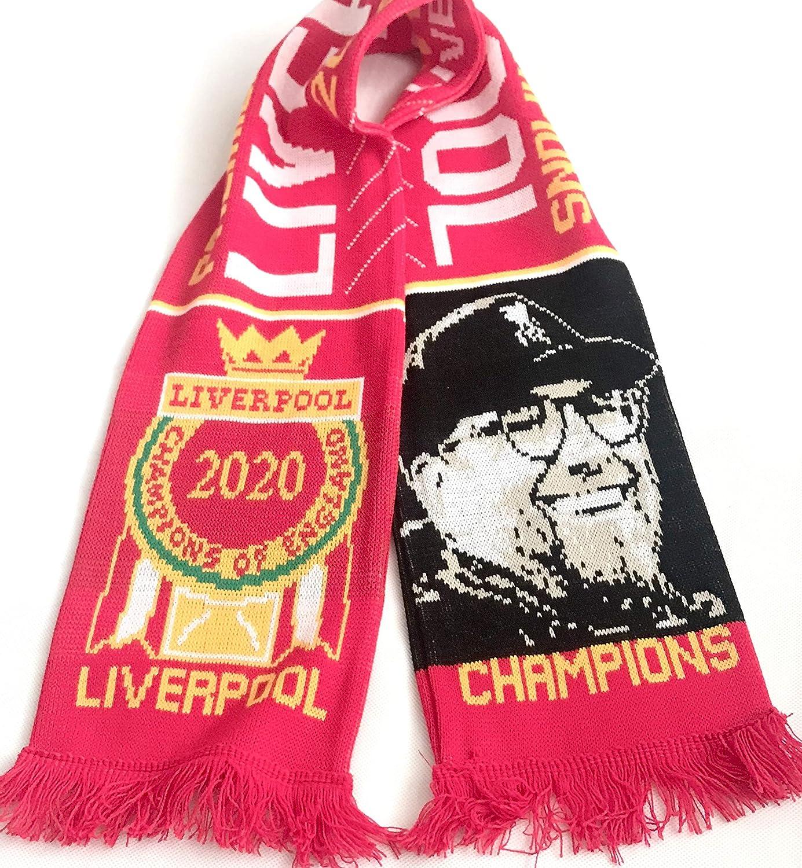 Liverpool Premier League Champions Scarf