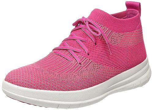 098976d0890 Fitflop Women s Uberknit Slip-on High Top Sneaker Hi Trainers ...