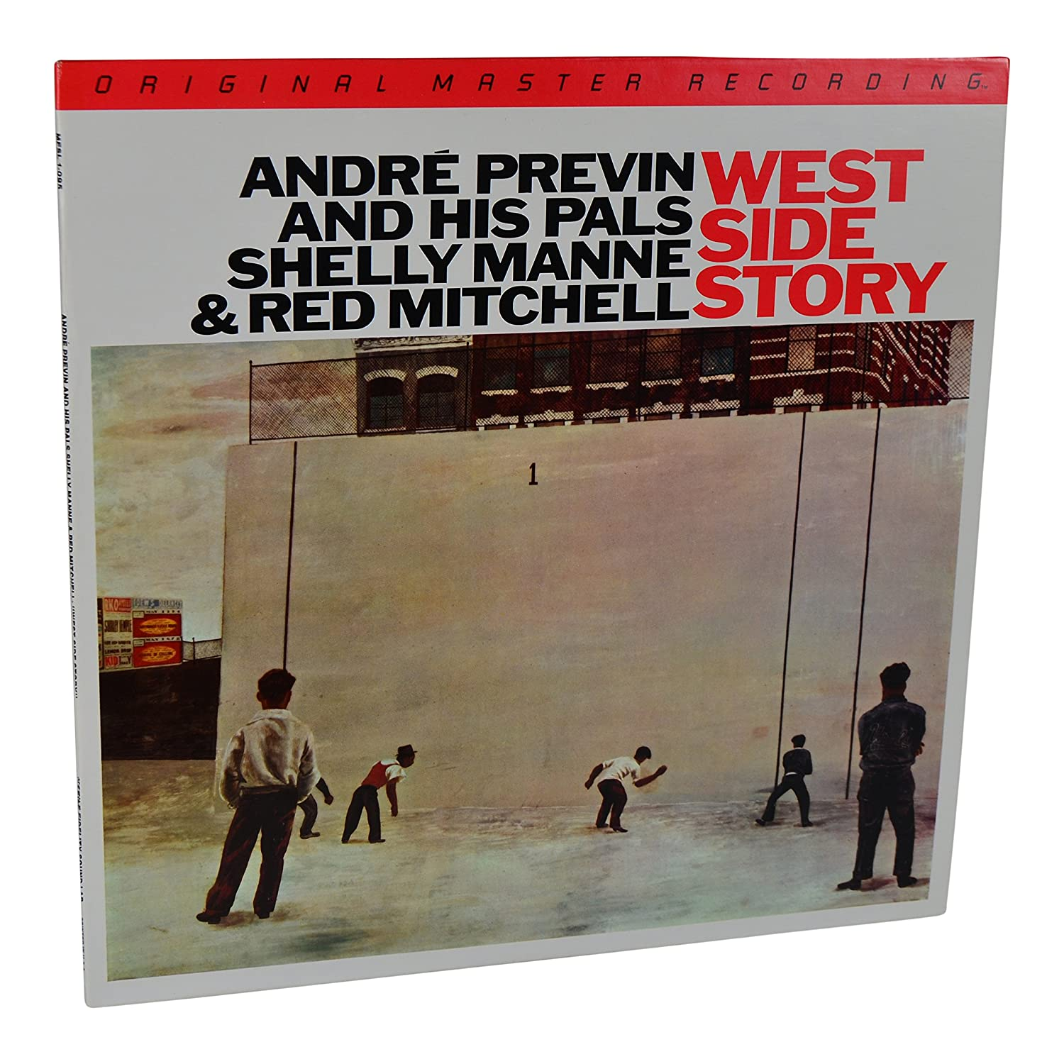 Amazon.com: MFSL: 1983 Mobile Fidelity André Previn & His Pals West Side Story LP #1-095: Andre Previn & His Pals: Entertainment Collectibles
