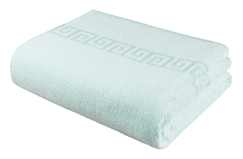 Fleuresse Frottier 3135 Fb. 7 - Juego de toallas de ducha (2 unidades, 70 x 140 cm), color beige: Amazon.es: Hogar