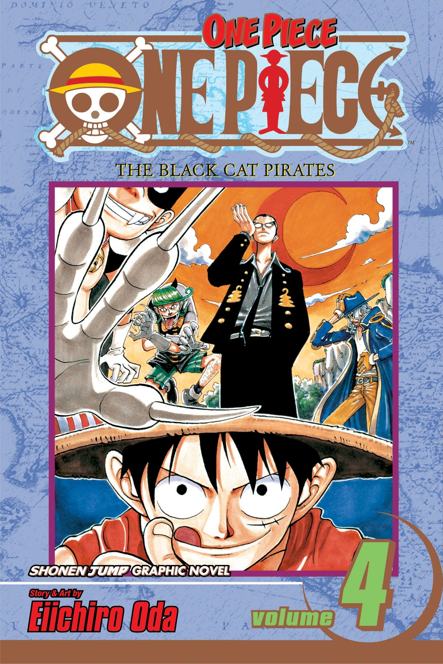 Download One Piece Vol. 4: The Black Cat Pirates ebook