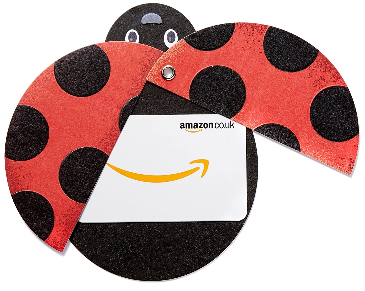 Amazon.co.uk Gift Card in a Ladybird Sleeve Amazon EU S.à.r.l. Fixed