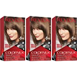 REVLON Colorsilk Beautiful Color Permanent Hair Color with 3D Gel Technology & Keratin, 100% Gray Coverage Hair Dye, 50 Light