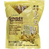 Prince of Peace Instant Ginger Honey Crystals (Pack of 5 x 30ct)