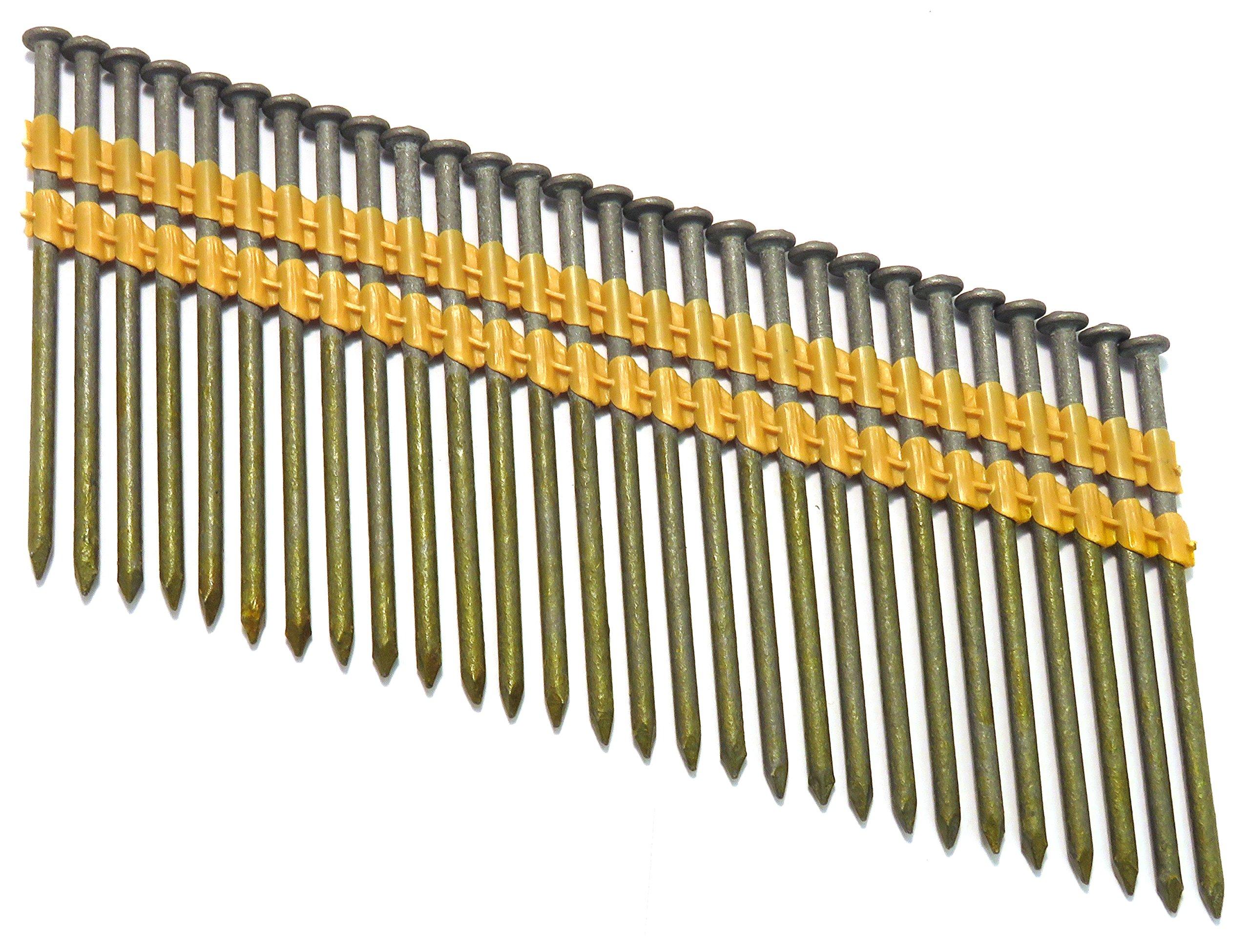 TrueSpec HZB32131P Tree Island 16D Short 3-1/4'' x .131'' Zincgard Hot Galvanized Framing Nails by TrueSpec