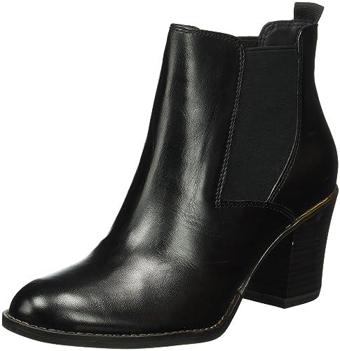 Tamaris Damen 25065 Chelsea Boots, Schwarz (Black 001), 40