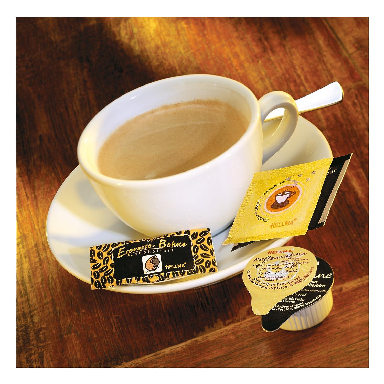 Hellma Granos de Espresso en Chocolate Amargo, Granos de Café en Chocolate, Empacados Individualmente ca. 380 Unidades: Amazon.es: Alimentación y bebidas