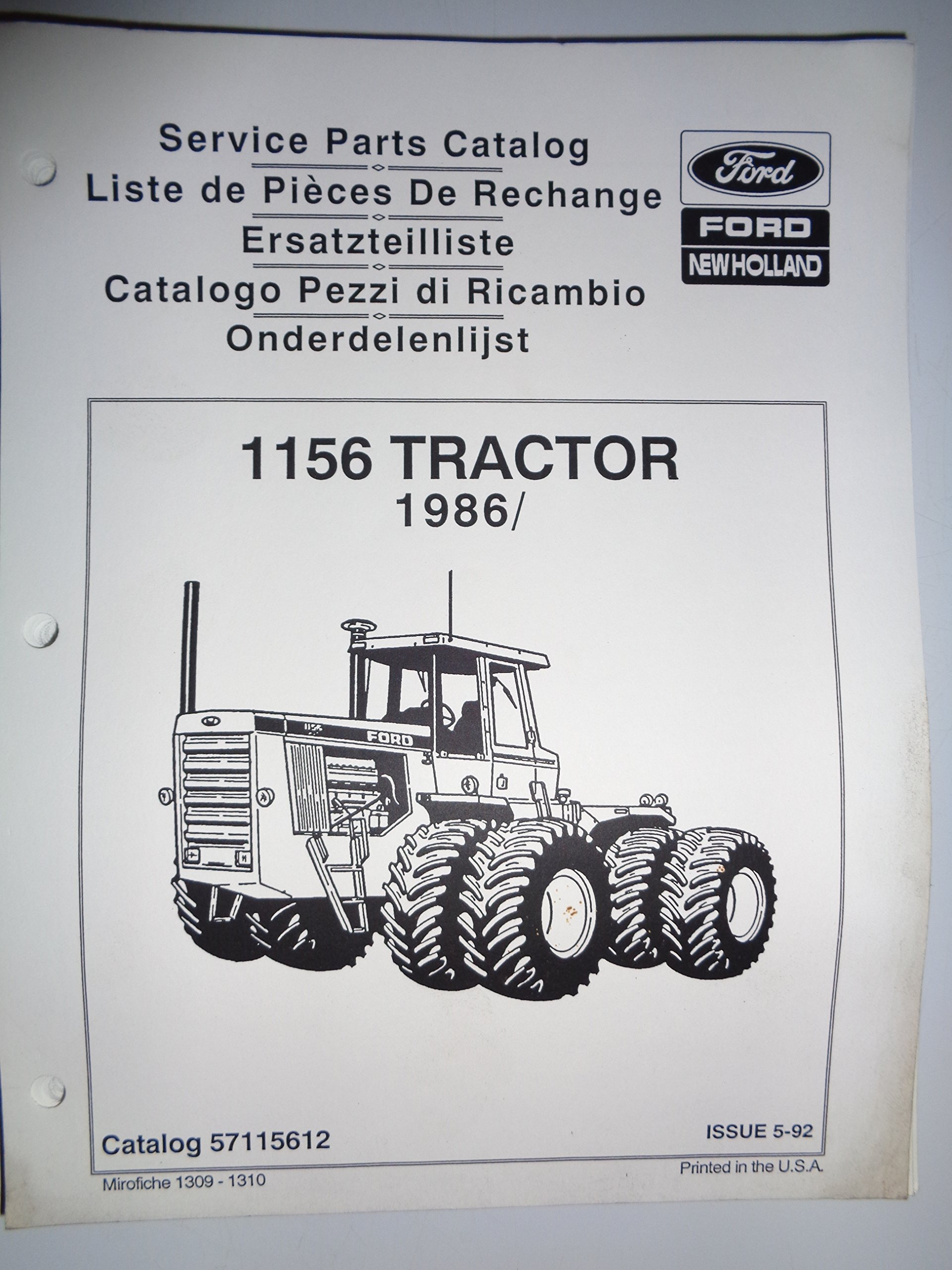 Ford Tractor Parts Catalog