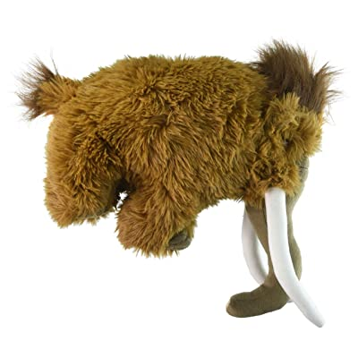 "Fiesta Toys Exotic Dinosaur Plush - 11"" Wooly Mammoth: Toys & Games"