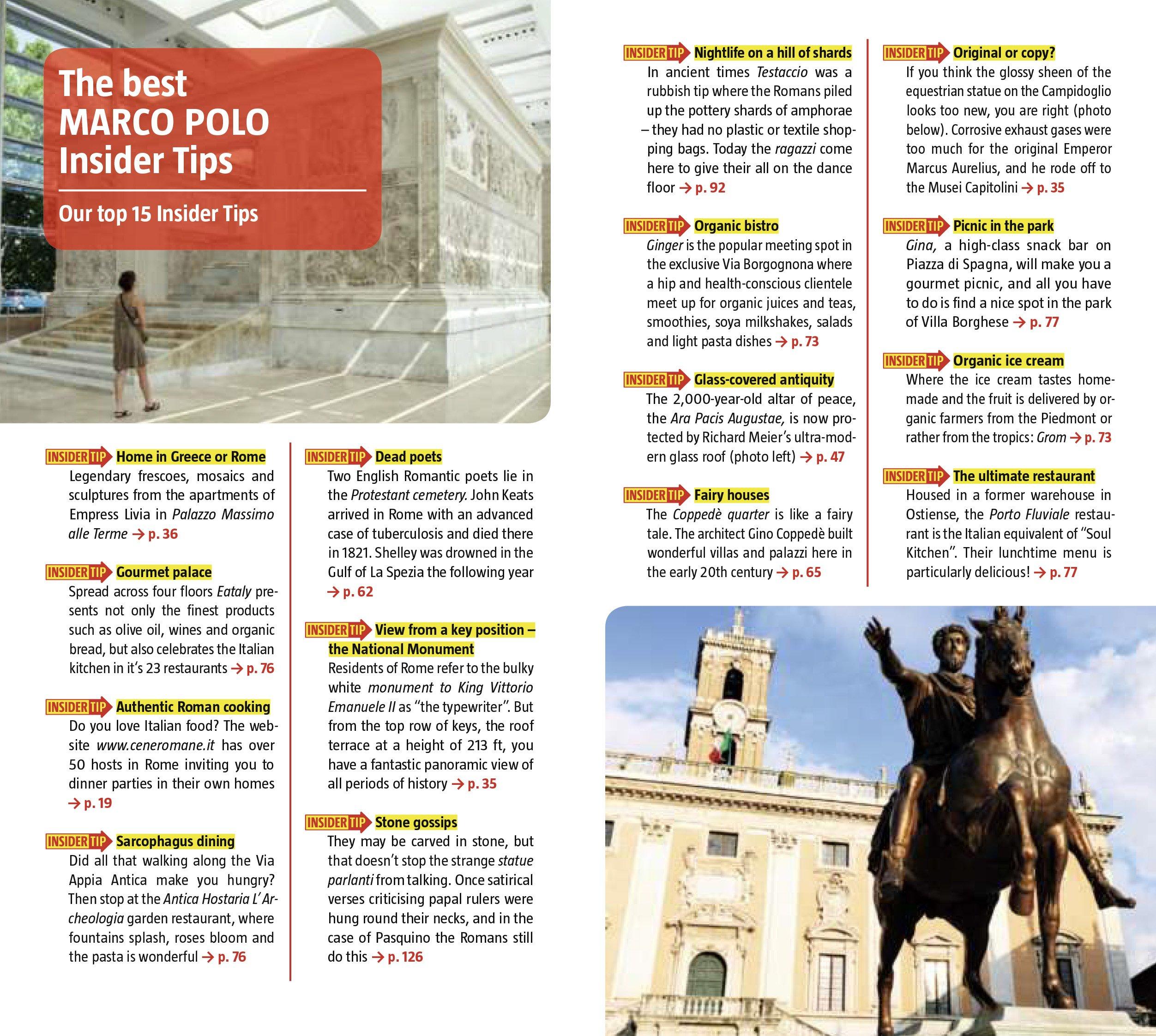 Rome Marco Polo Guide (marco Polo Guides): Marco Polo Travel Publishing:  9783829706773: Amazon: Books