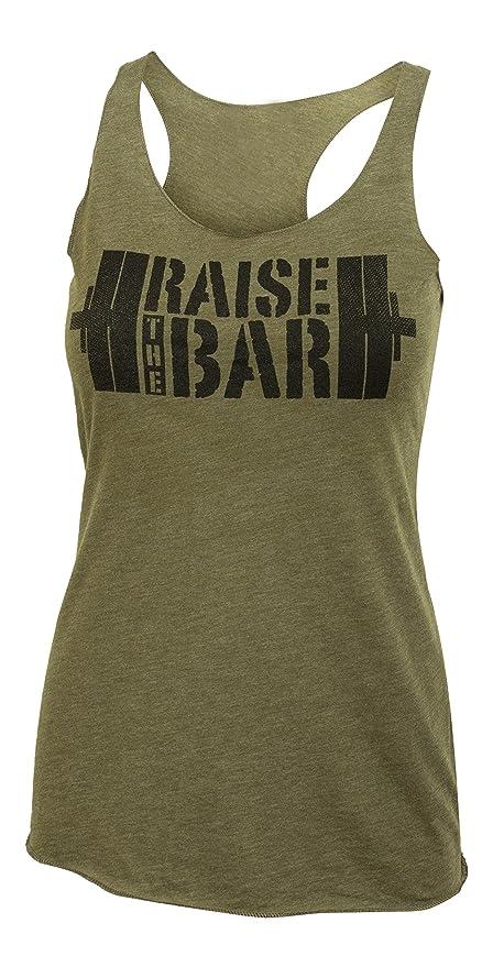 2c18e27c03 Amazon.com  Jumpbox Fitness Raise The Bar - Big Stencil - Women s ...