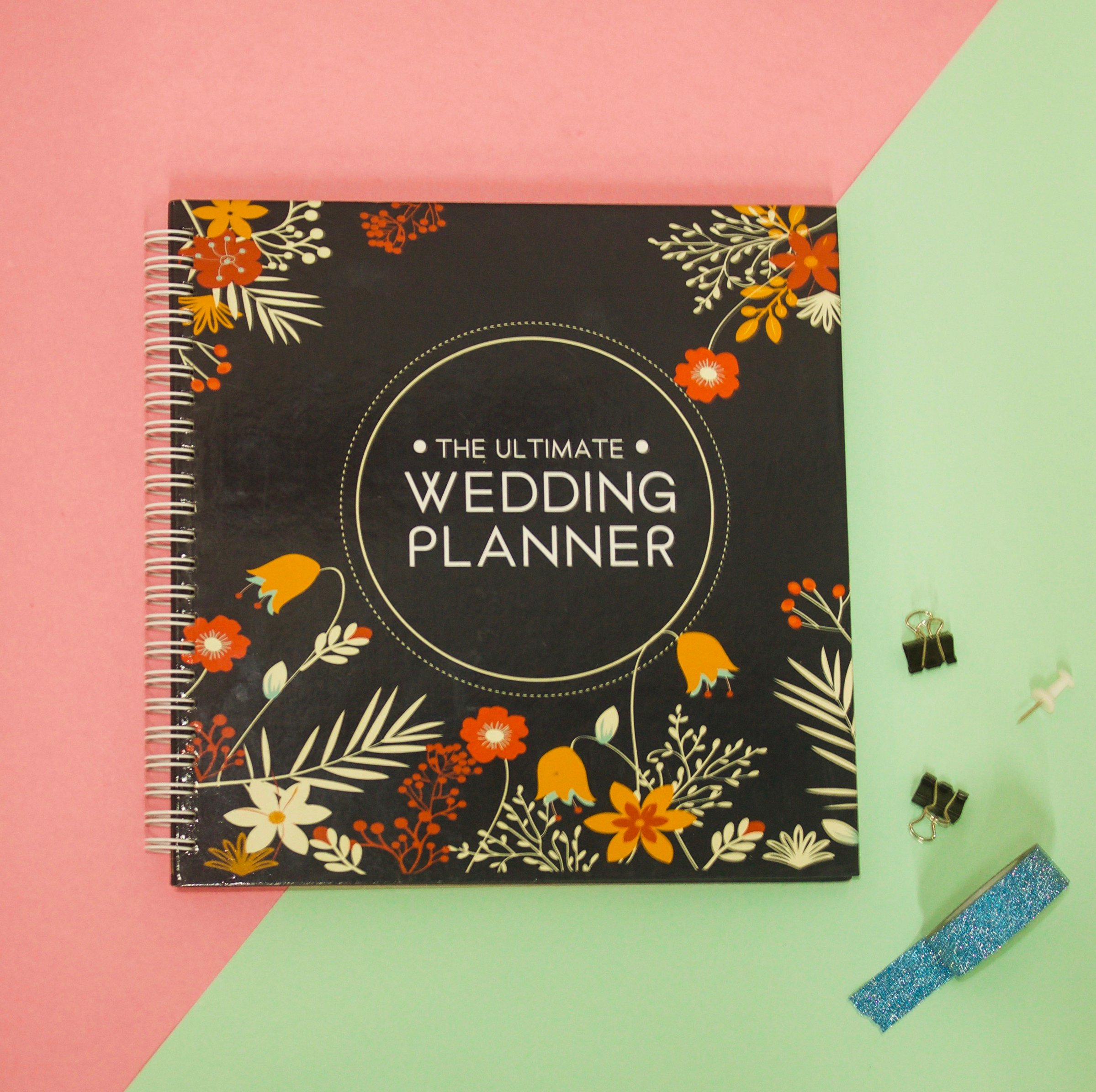 The Ultimate Wedding Planner – A Complete 80 Pages Hardcover Organizer that Includes Checklists, Party Planner, Budget Organizer, Honeymoon and More to Help You Organize The Wedding of Your Dreams! by Unconditional Rosie (Image #7)