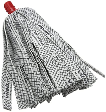 VILEDA PROF SUPERMOP HEAD REFILLS RED