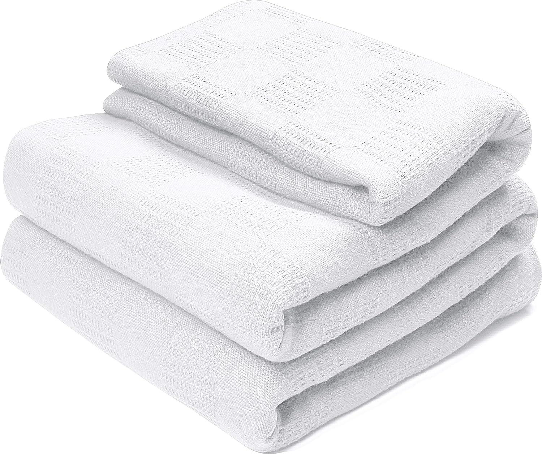 100 cotton blankets