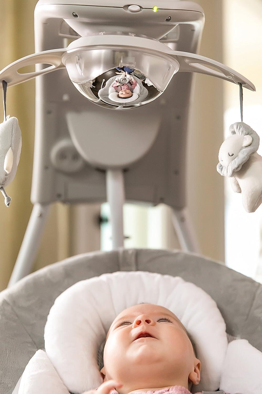 Braden Ingenuity DreamComfort InLighten Cradling Swing