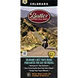 Butler Maps: Colorado Motorcycle Map - Printed motorcycle maps for riders by riders!